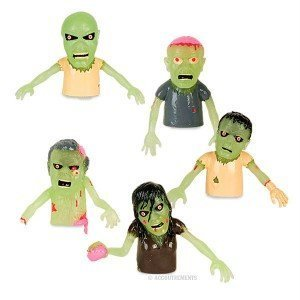 Zombie Finger Puppets