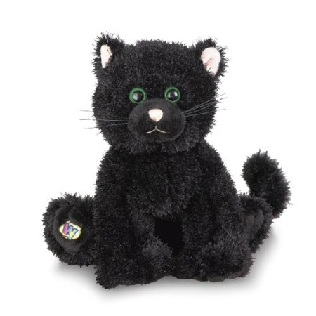 Webkinz Limited Edition Halloween Black Ca