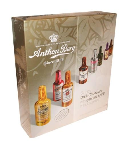 Anthon Berg Chocolate Liqueurs with Original Spirits