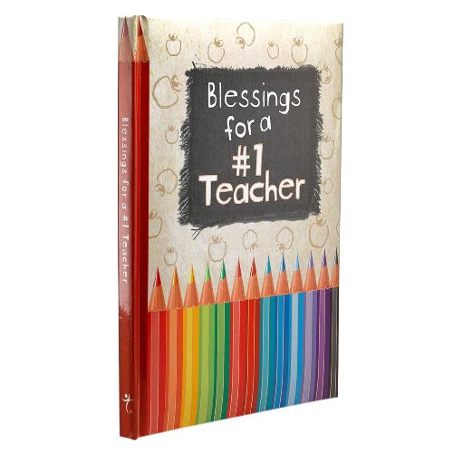 Blessings for a #1 Teacher (Hardcover)