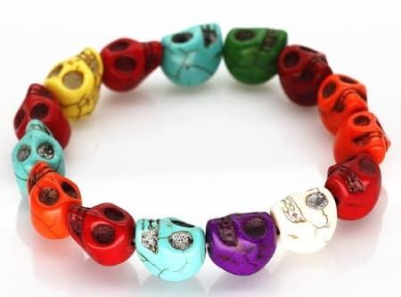Skull Chain Rock Bracelet