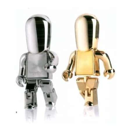 Metal Robot Flash Drive