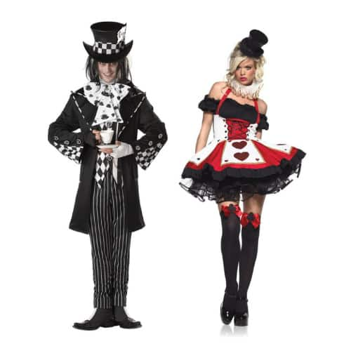 Mad Hatter and Queen of Hearts