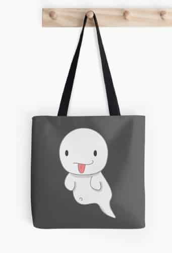 Naughty Ghost Bag by vividlee