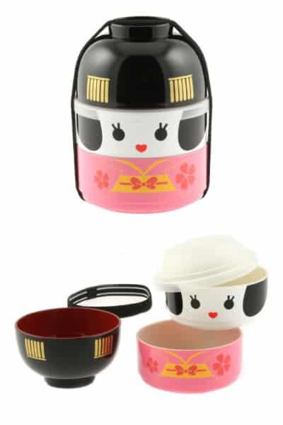 Geisha Doll Bento Set