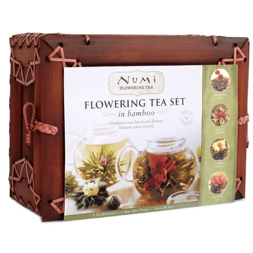 Numi Organic Tea Flowering Gift Set