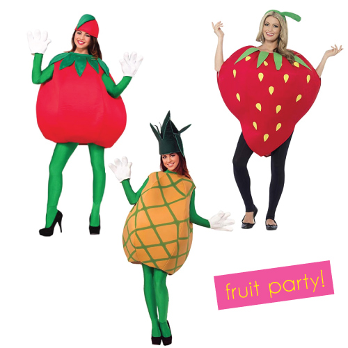 Fruit Party Halloween Group Costume