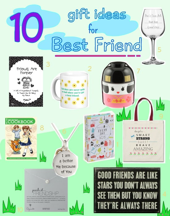 10 Gift Ideas for Best Friend