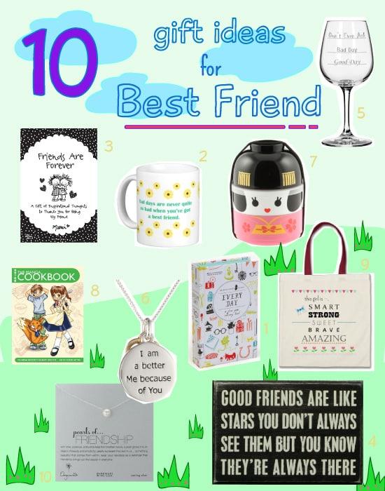 10 Gift Ideas for Best Friend