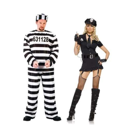 Police Officer and Jailbird
