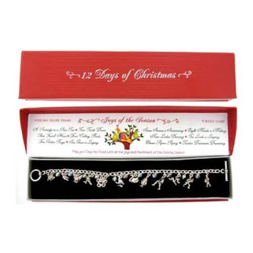 12 Days of Christmas Charm Bracelet