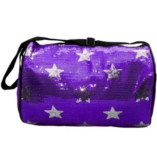 Purple Stars Dance Duffle Bag