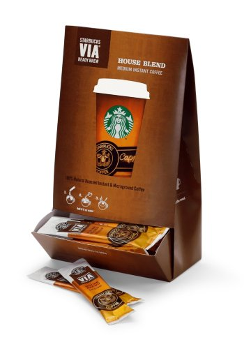 Starbucks VIA Ready Brew Coffee (House Blend)
