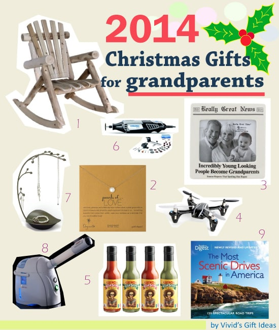 List of Christmas Present for Grandparents | VIVID'S