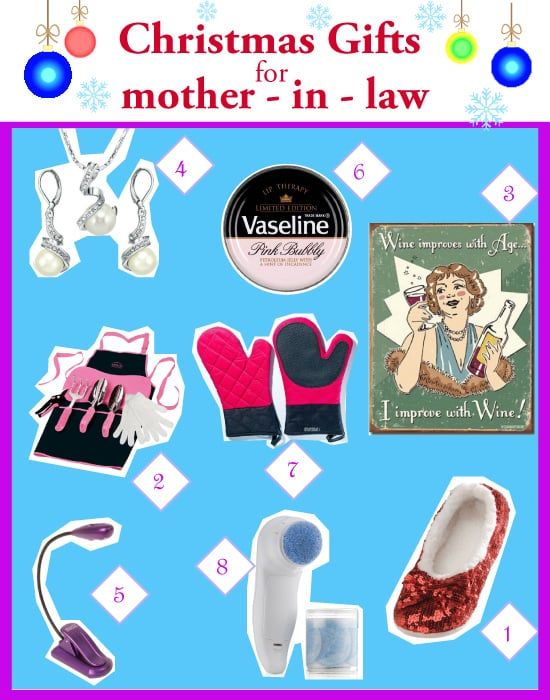 2014 Christmas Gifts for Mother-in-Law
