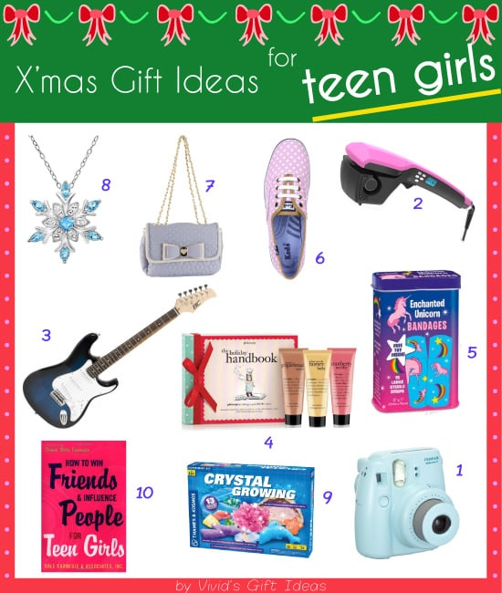 2014 Christmas Gifts for Teen Girls