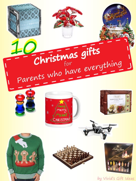 2014 Christmas Gift Ideas For Parents Who Have Everything ...