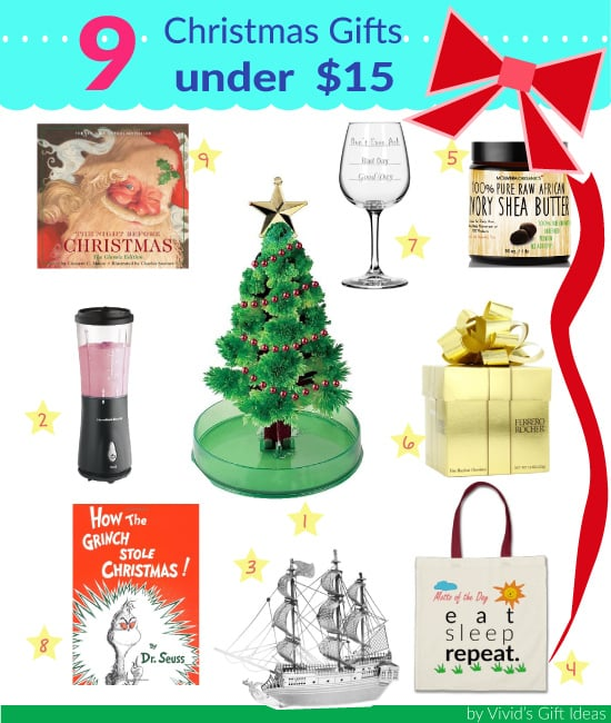 Christmas gifts under 15 great for gift exchange Good gifts for gift exchange
