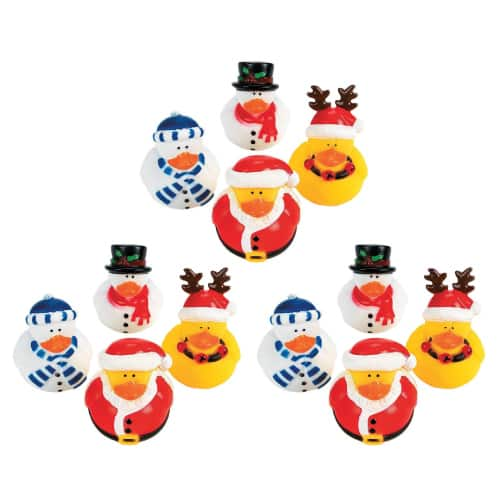 Christmas Holiday Rubber Ducky