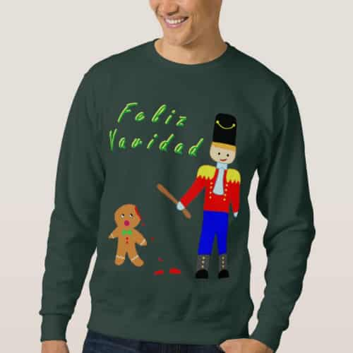 Gingerdead Man Sweater
