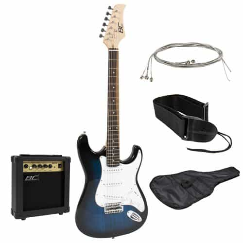 Full Size Electric Guitar with Amp Beginner Starter Package