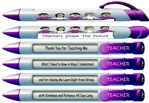 """Teachers Shape the Future""  Pen Set"