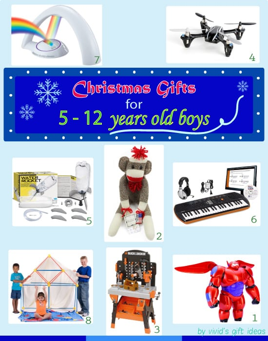 Christmas Gifts for 5-12 Years Old Boys