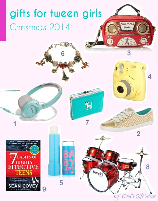 12 Christmas Gift Ideas For Tween Girls