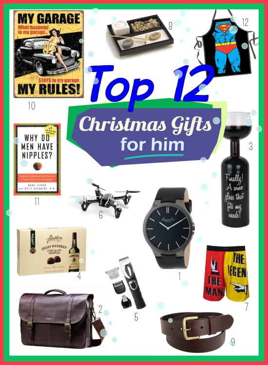 2014 Top Christmas Gifts for Him