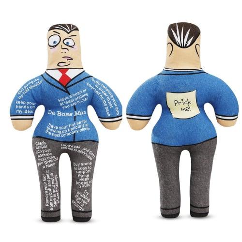 Da Boss Man pinhead doll