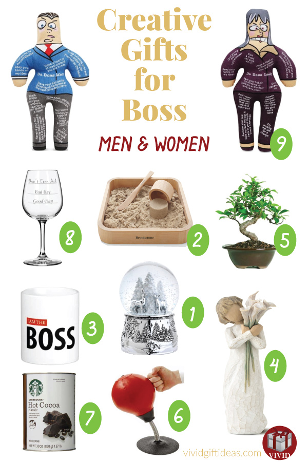 Christmas Gifts For Boss (men and women)