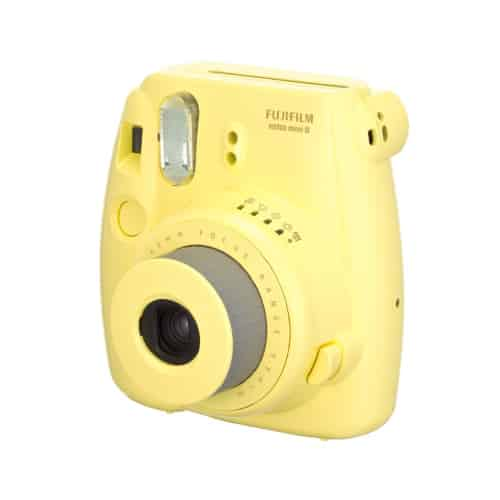 Yellow Instax Mini 8 Instant Camera