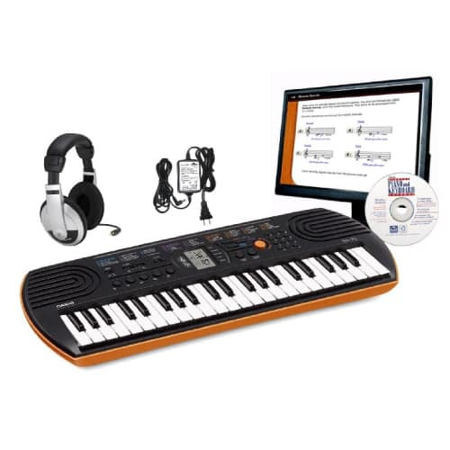 Casio Personal Keyboard Package