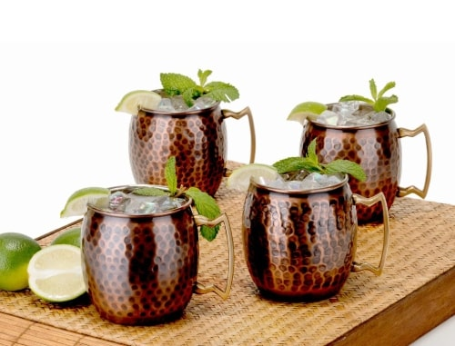 Old Dutch Moscow Mule Mug Set