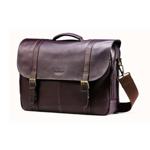 Samsonite Colombian Leather Flapover Case