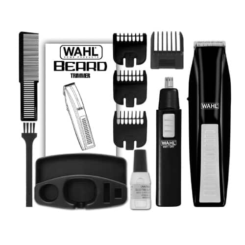 11 pieces beard trimmer kit