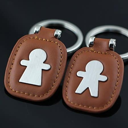 Boy and Girl Couple Keychain