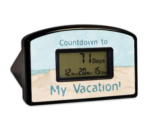 Countdown Timer To My Vacation