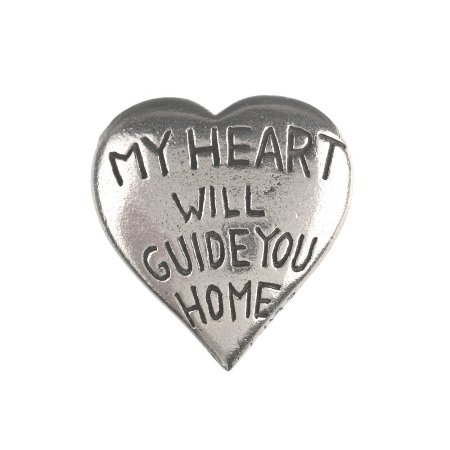 My heart will guide you home Pocket Compass