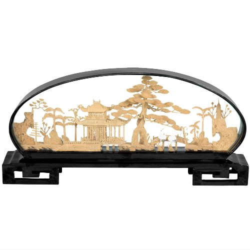 Ming Nature Scene Decor