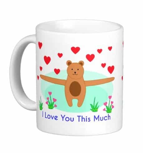 Brown Bear says I Love You This Much