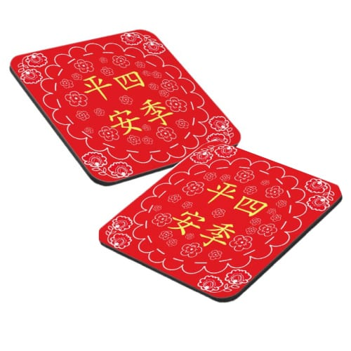 Four Seasons Chinese Style Coasters Set