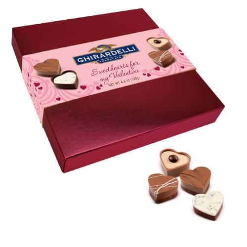 Ghirardelli Sweethearts for My Valentine Chocolates