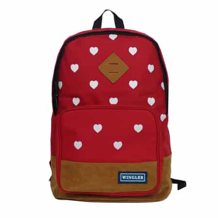 Wingeler Canvas School Backpack