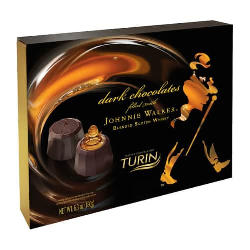 Johnnie Walker Dark Chocolates by Turin Chocolatier