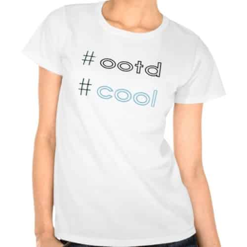 OOTD Statement T-shirt