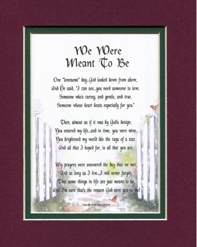 """We Were Meant To Be"" Poem"