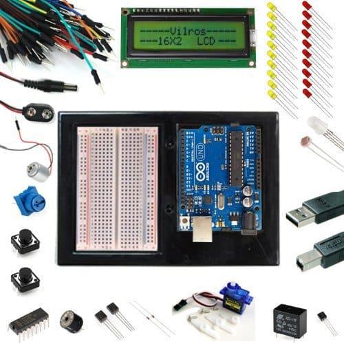Arduino Uno Ultimate Starter Kit + LCD Module