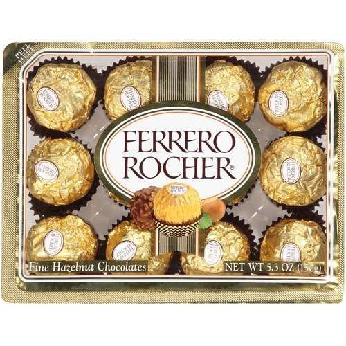 Ferrero Rocher Fine Hazelnut Chocolate