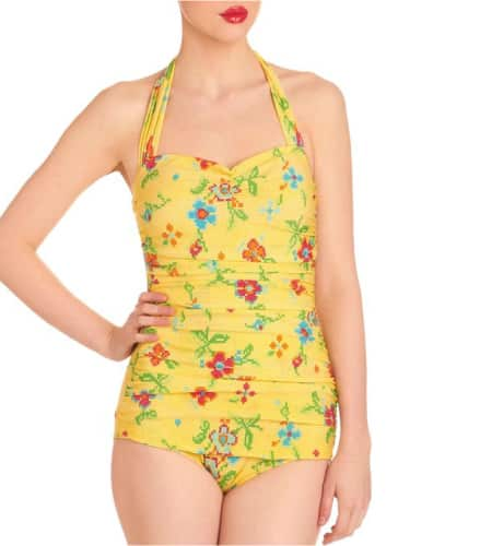 Esther Williams 50's Pin Up Swimsuit